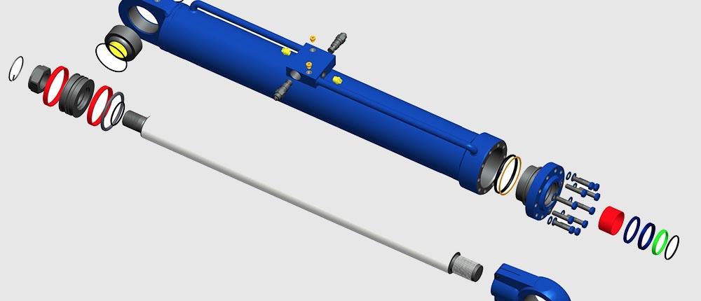 Hydraulic Cylinder Design : Hydraulic cylinder design to customer specifications