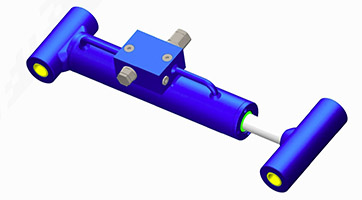 Custom Hydraulic Cylinders with Integrated Valves