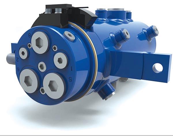 rotary oil distributor